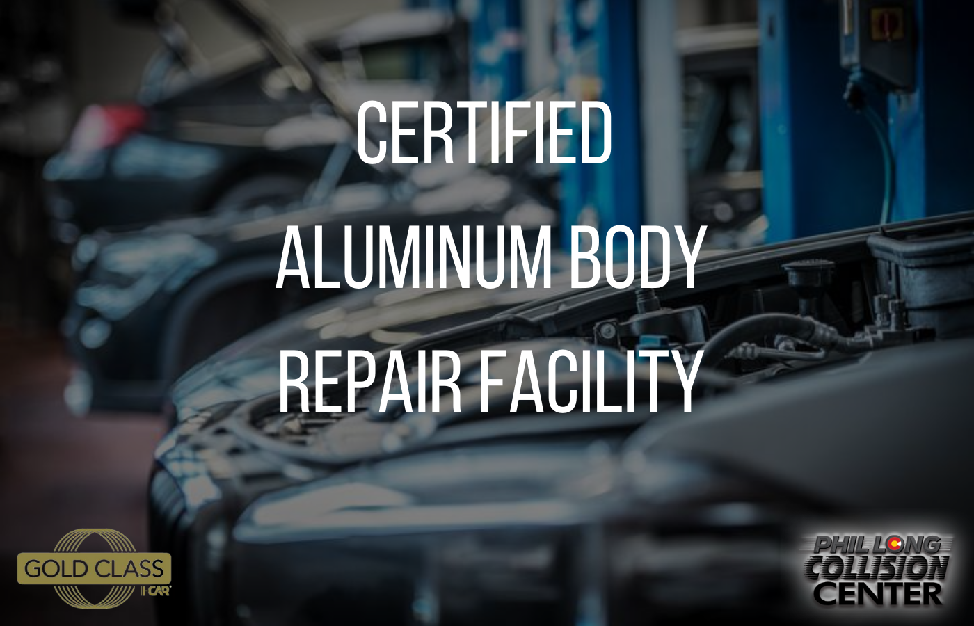 Aluminum Certified collision repair center in Colorado Springs at Phil Long Collision Center