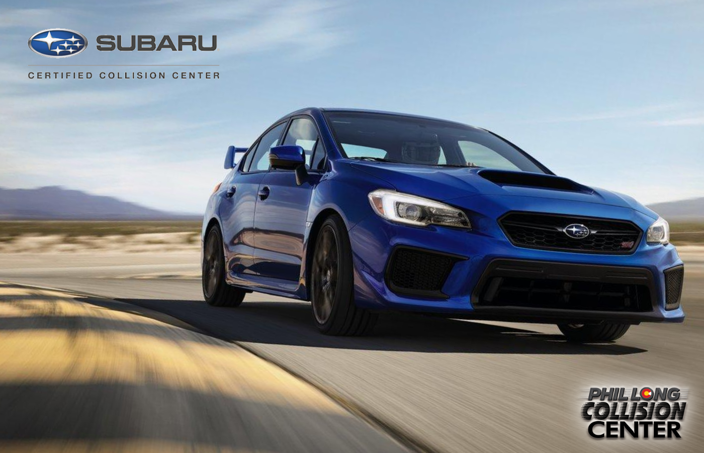 Subaru Certified collision repair body shop in Colorado Springs at Phil Long Collision Center